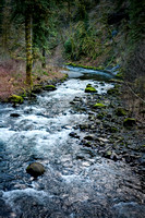 Eagle Creek in the Columbia River Gorge. OR