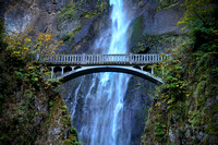 Bridge at Multnomah Falls, OR