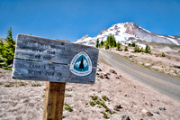 Places in Mt. Hood National Forest, July and August 2020
